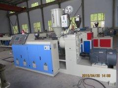 PERT塑料管材生产线