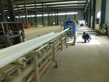 PE管材生产线四个特点介绍