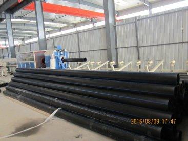pe管材生产线制造的管材优点和应用领...