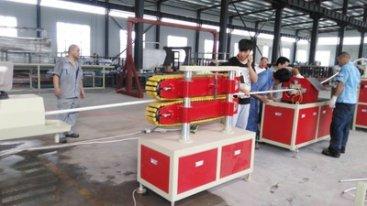 让塑料管材生产线更好的运转,好的维护、修少