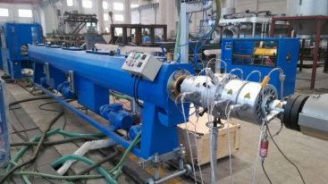 pe管材生产线生产的pe管材生产线衔接工作方式
