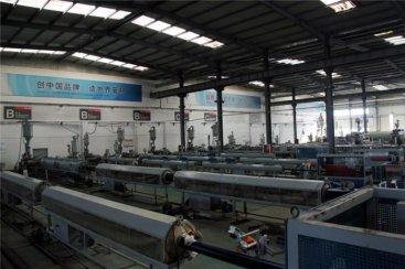 pe管材生产线生产的pe管材生产线要达到什么承受