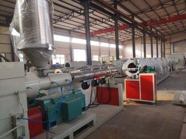 PE管材生产线生产的产品工艺优势
