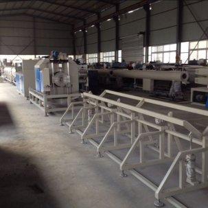 pe管材生产线生产的管道的特点