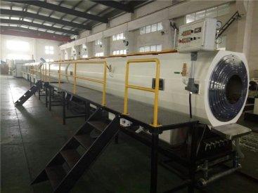 pe管材生产线生产线讲述波纹管的相关...